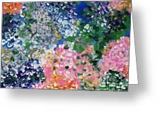 Hydrangeas I Greeting Card