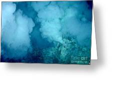 Hydrothermal Smoker Vent Greeting Card by Science Source