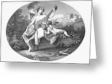 Hymen And Cupid Greeting Card