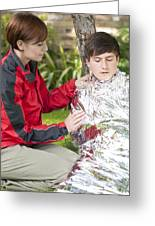 Hypothermia Greeting Card by