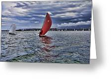 I Am Sailing V2 Greeting Card