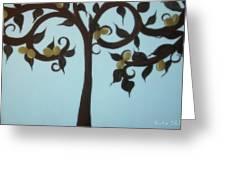 I Am The Vine Greeting Card