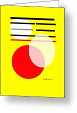 I Ching 5 Greeting Card