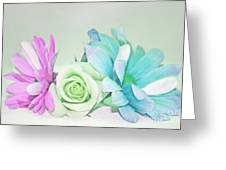 I Dream Of Flowers Greeting Card