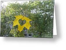 I Love Autumn 02 Greeting Card