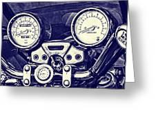I Love My Bike Greeting Card