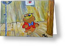 I Love To Singa... Greeting Card