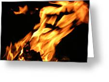I See Fire Greeting Card
