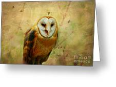 I Will Make You Smile Owl Greeting Card