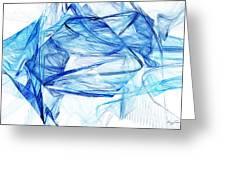 Ice 002 Greeting Card