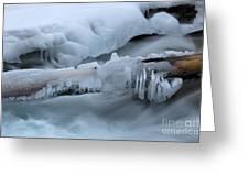 Ice 13 Greeting Card