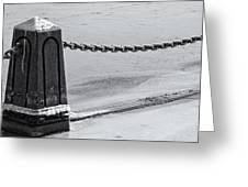 Ice Barrier Greeting Card