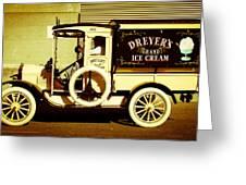Ice Cream Truck Greeting Card