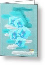 Ice Cubes Greeting Card