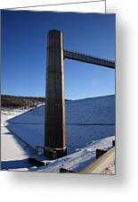 Ice Tower Catwalk 2 Greeting Card
