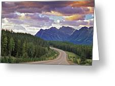 Icefields Parkway, Jasper National Greeting Card