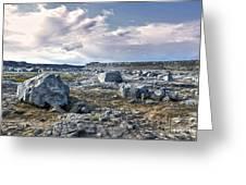 Iceland Barren Landscape - 02 Greeting Card