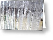 Icicle Curtain Greeting Card