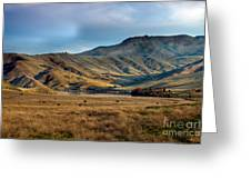 Idaho Foothills Greeting Card