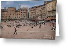 Il Campo Siena Greeting Card