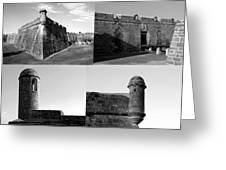 Images Of The Old Castillo Greeting Card