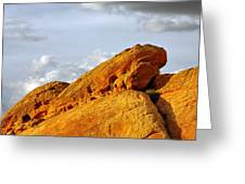 Imagination Runs Wild - Valley Of Fire Nevada Greeting Card by Christine Till