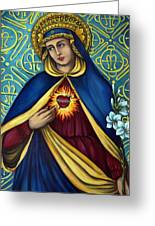 Immaculate Heart Greeting Card