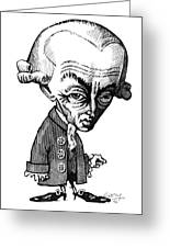 Immanuel Kant, Caricature Greeting Card