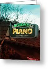 Immortal Piano Co Greeting Card