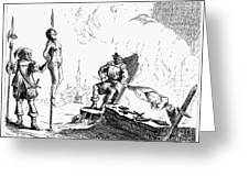 Impalement Of Waldenses Greeting Card
