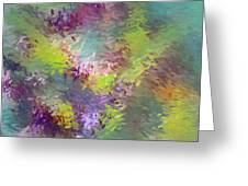 Impressionistic Abstract Greeting Card
