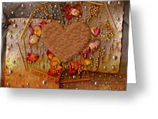 In Cookie And Bread Style Greeting Card