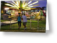 In Love At The Fair Greeting Card