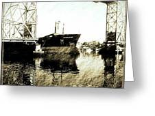 In Portsmouth Harbor Greeting Card