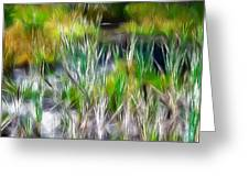 In The Bog Greeting Card