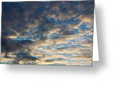 In The Clouds  Greeting Card