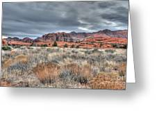 In The Desert Greeting Card