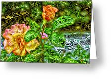 In The Garden Of Dreams Greeting Card