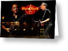 In The Hard Rock Cafe Greeting Card