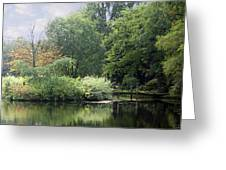 In The Park Greeting Card