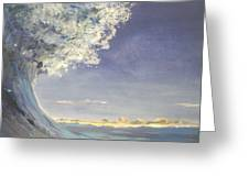 In The Wave Greeting Card