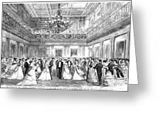 Inaugural Ball, 1869 Greeting Card