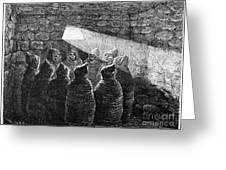 Inca Tomb: Chulpa Greeting Card