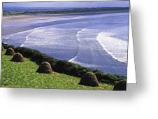 Inch Beach, Co Kerry, Ireland Greeting Card