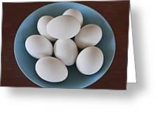 Incipient Egg Salad Greeting Card