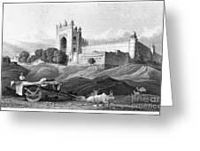 India: Fatehpur Sikri, C1860 Greeting Card