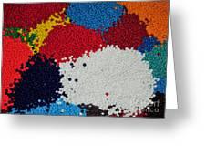 Indian Beads Greeting Card