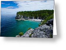 Indian Head Cove Greeting Card