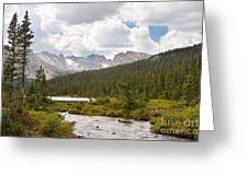 Indian Peaks Summer Day Greeting Card