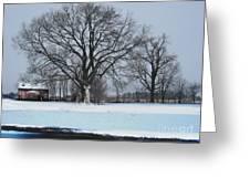 Indiana Winter Greeting Card